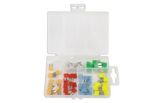 Connect 37158 60 Piece Micro 2 Blade Fuse Assorted Box